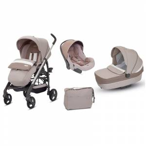 Inglesina kolica 3u1 Trilogy grey double
