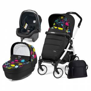 Peg Perego kolica 3u1 Book 51 Elite White-Black