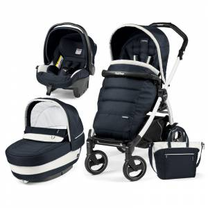 Peg Perego kolica 3u1 Book 51S Elite White-Black