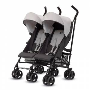 Inglesina kolica za blizance Twin Swift Grafite (1)