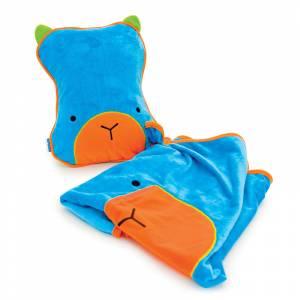 Trunki jastuk i dekica SnooziHedz Blue Bert