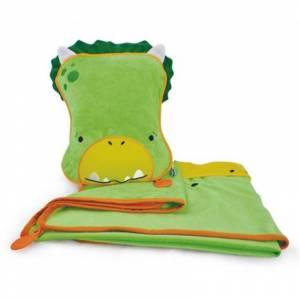 Trunki jastuk i dekica SnooziHedz Dinosaur Doudly