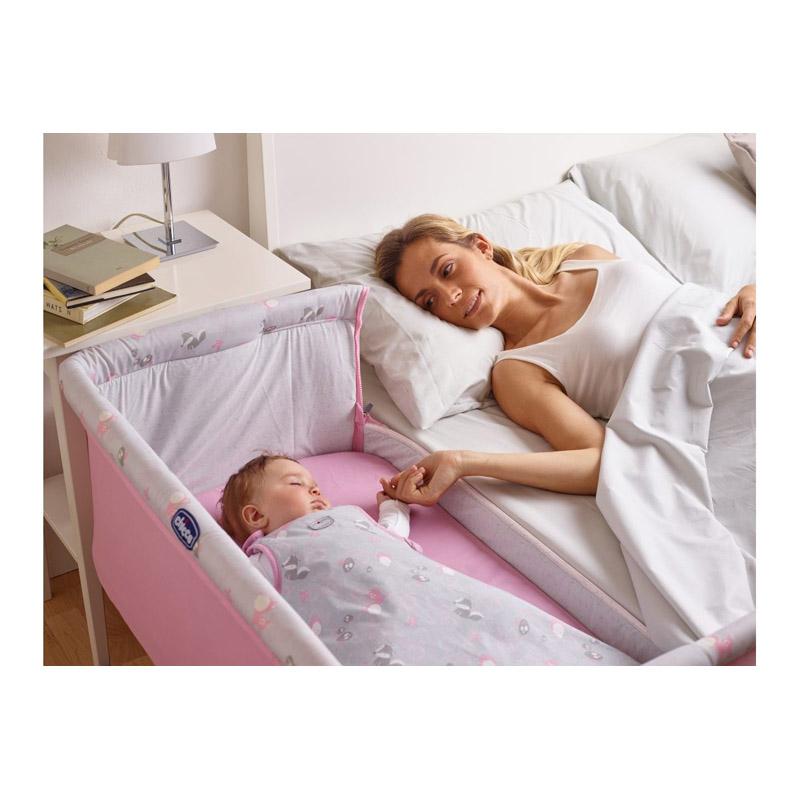chicco kreveti next2me fucsia pernatal. Black Bedroom Furniture Sets. Home Design Ideas