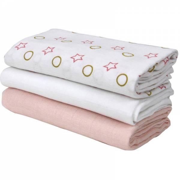 Bubaba tetra pelene zvjezdice roze 3 kom