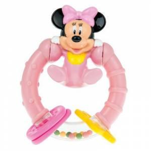 Clementoni zvecka Minnie Mouse okrugla