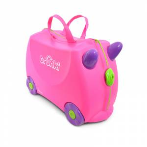 Trunki Ride-on kofer Trixie Pink (1)