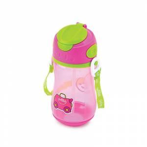 Trunki bocica sa slamkom Drinks Bottle Trixie Pink