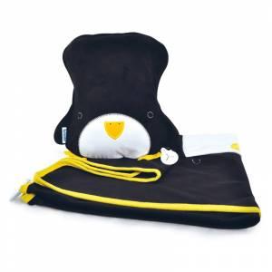 Trunki jastuk i dekica SnooziHedz Penguin Pippin Black