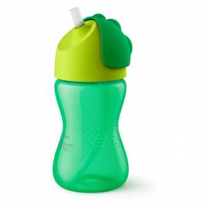 Philips Avent bocica sa slamkom 300 ml zelena
