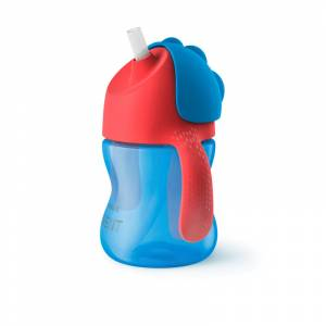 Philips Avent casica sa slamkom 200 ml plava