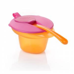 Tommee Tippee Explora zdjelica Cool & Mash roza
