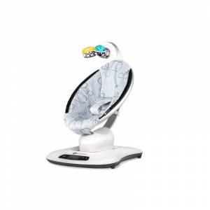 4moms djecja sjedalica mamaRoo silver plush