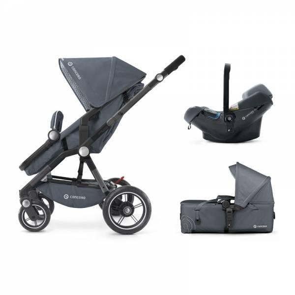 Concord kolica 3u1 Camino mobility set Steel grey