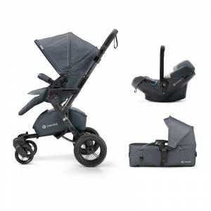 Concord kolica 3u1 Neo mobility set Steel grey