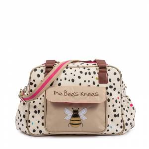 Pink Lining torba za pelene Yummy Mummy Bees Knees Dalmatian