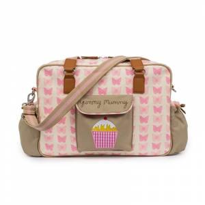 Pink Lining torba za pelene Yummy Mummy Pink Butterflies