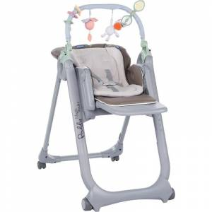 Chicco hranilica Polly Magic Relax Dove Grey