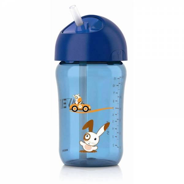 Philips Avent bocica sa slamkom 340 ml plava