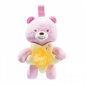 Chicco medvjedic rozi