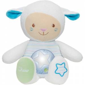 Chicco ovcica Lullaby plava