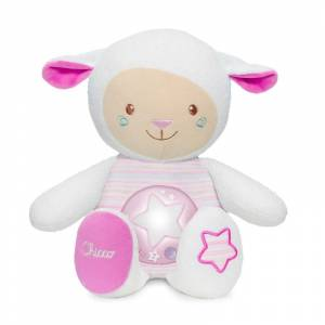 Chicco ovcica Lullaby roza