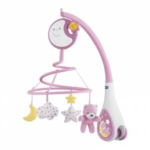 Chicco vrtuljak Next2Me Dreams rozi