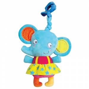 Tob igracka na povlacenje muzicki slonic Elle