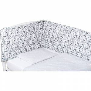 Bubaba set posteljine za krevetic 6 dijelova Exclusive pingvini