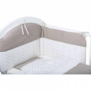 Bubaba set posteljine za krevetic 6 dijelova svijet zvjezdica i tockica
