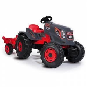 Smoby traktor s prikolicom Stronger XXL