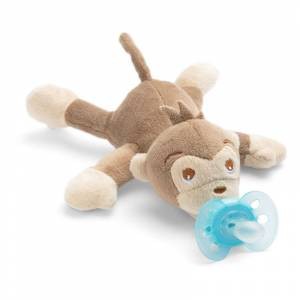 Philips Avent duda varalica Ultra Soft Snuggle majmuncic