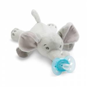 Philips Avent duda varalica Ultra Soft Snuggle slonic