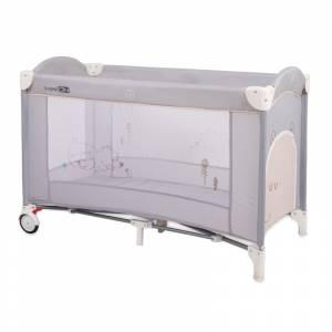 FreeOn prijenosni krevetić Bear grey (2)