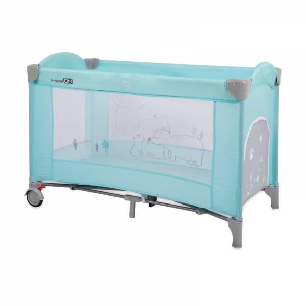 FreeOn prijenosni krevetic Bear mint (1)
