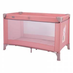 FreeOn prijenosni krevetic Love dusty pink (1)