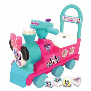Kiddieland guralica Minnie vlakic s oblicima
