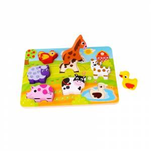 Tooky Toy 3D umetaljka Farma