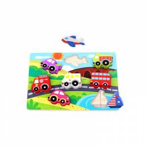 Tooky Toy 3D umetaljka Vozila