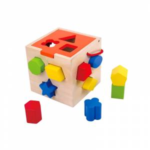 Tooky Toy didakticka kocka s oblicima
