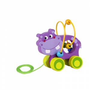 Tooky Toy labirint Hippo na uzici
