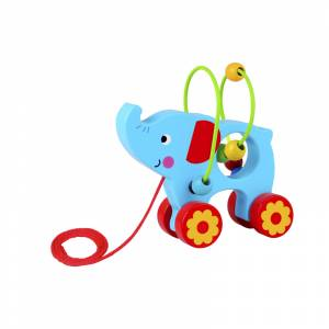 Tooky Toy labirint Slonic na uzici