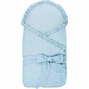 Bubaba jastuk za novorodence plavi