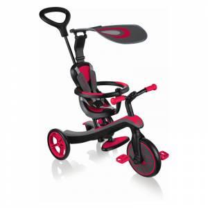 Globber tricikl Explorer 4u1 crveni
